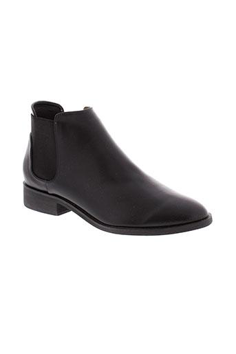 vanessa et wu boots femme de couleur noir