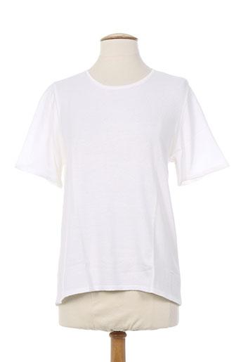 maille a. forcier pulls femme de couleur blanc