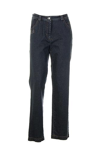 perspectives jeans femme de couleur bleu