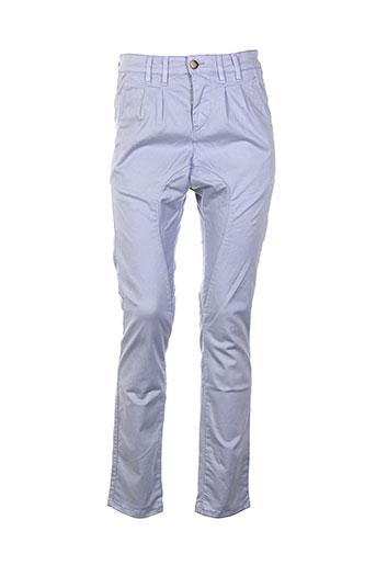 couturist pantalons femme de couleur violet
