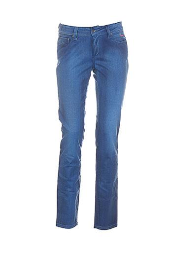 couturist pantalons et decontractes femme de couleur bleu