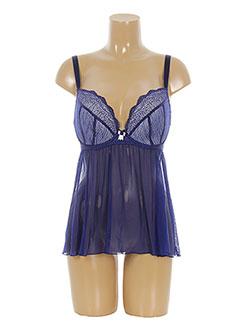Nuisette/combinette bleu CURVY KATE pour femme