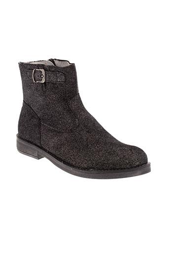 minibel boots fille de couleur noir