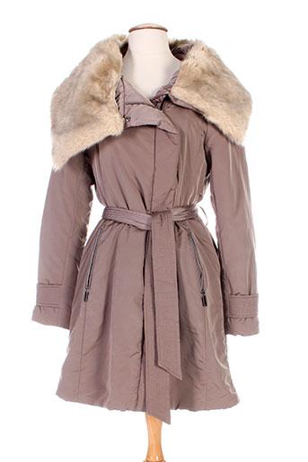 mexx manteaux femme de couleur beige