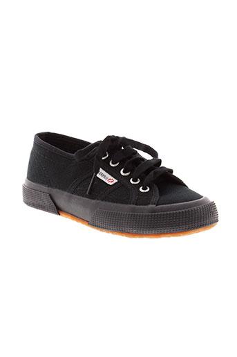 superga chaussures enfant de couleur noir