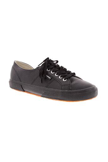 superga chaussures homme de couleur noir