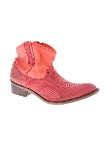 koah chaussures femme de couleur rouge