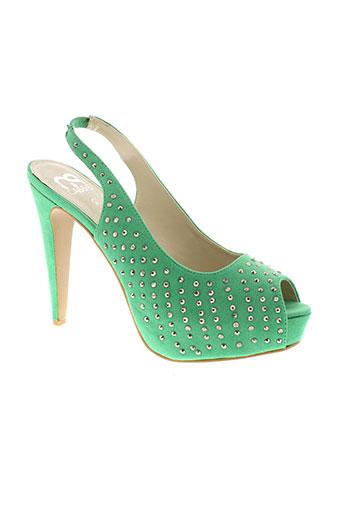 cassis cote d'azur chaussures femme de couleur vert