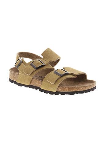 betula chaussures fille de couleur marron