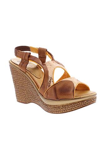 marila chaussures femme de couleur marron