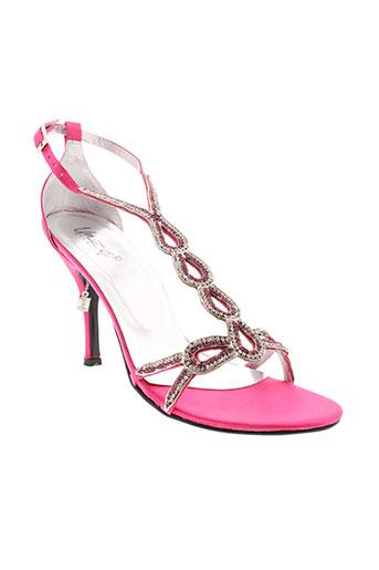 unze london chaussures femme de couleur rose