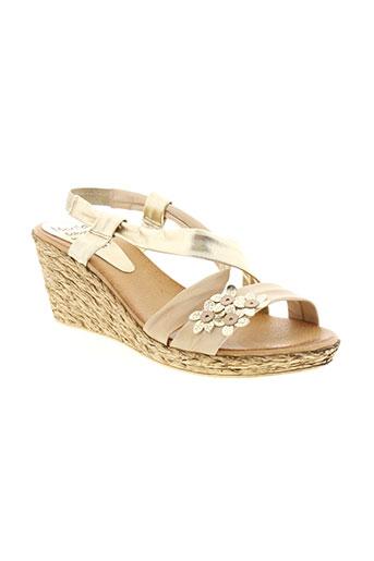 marila chaussures femme de couleur beige
