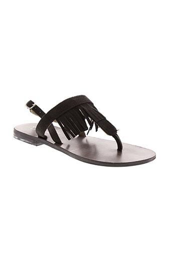 valentine la coquine chaussures fille de couleur noir