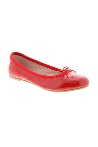 bloch chaussures fille de couleur rouge