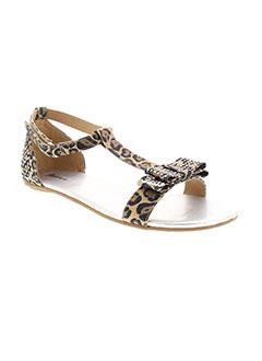 d5ab62de825b3 Chaussures GUESS Fille De Couleur Marron En Soldes Pas Cher - Modz