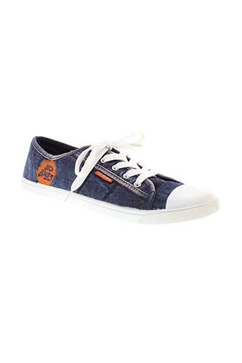 no blues chaussures femme de couleur bleu