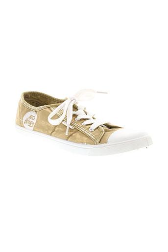 no blues chaussures femme de couleur beige
