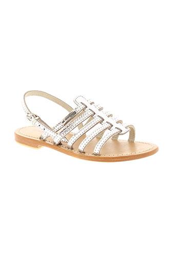 les tropeziennes par m.belarbi chaussures fille de couleur gris