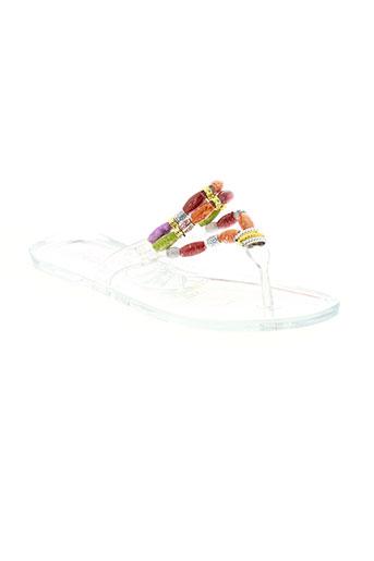 cassis chaussures fille de couleur blanc