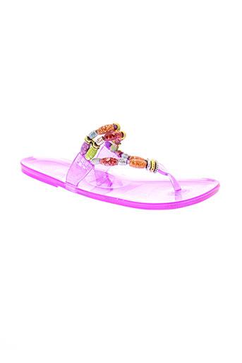 cassis chaussures fille de couleur violet