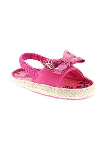 guess chaussures fille de couleur rose