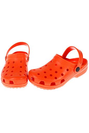 tty chaussures fille de couleur orange