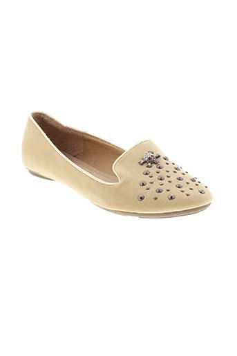 cassis chaussures femme de couleur beige