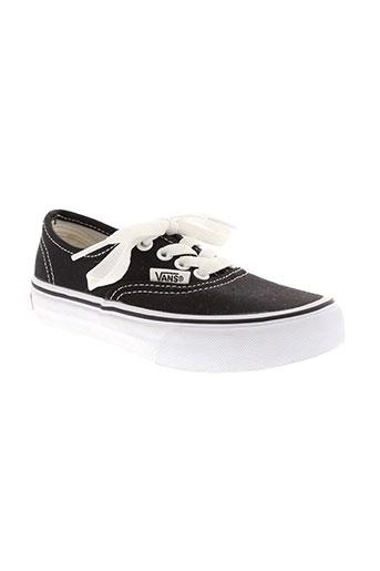 vans chaussures enfant de couleur noir