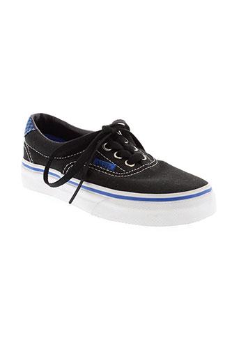 vans chaussures garçon de couleur noir