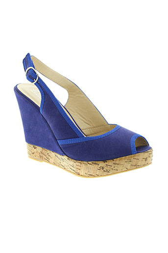 zaif chaussures femme de couleur bleu