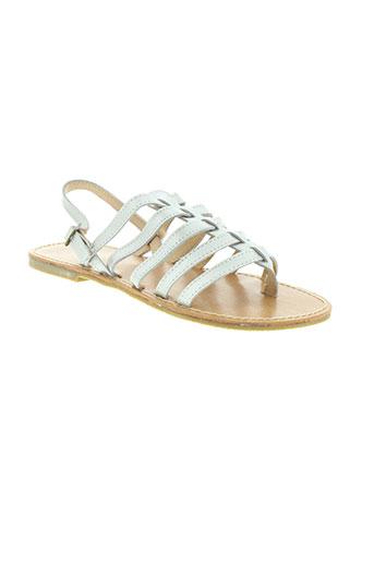 cap et company sandales et nu et pieds femme de couleur gris