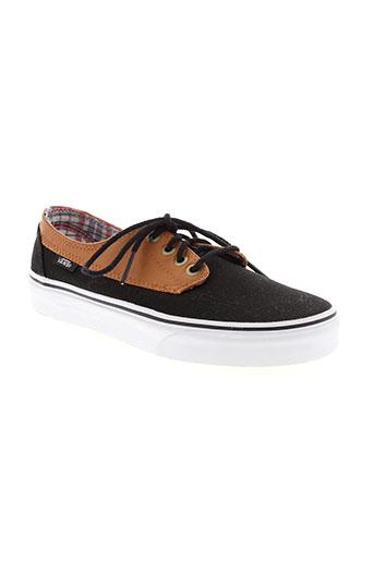vans chaussures unisexe de couleur noir