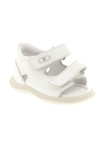 falcotto chaussures fille de couleur blanc