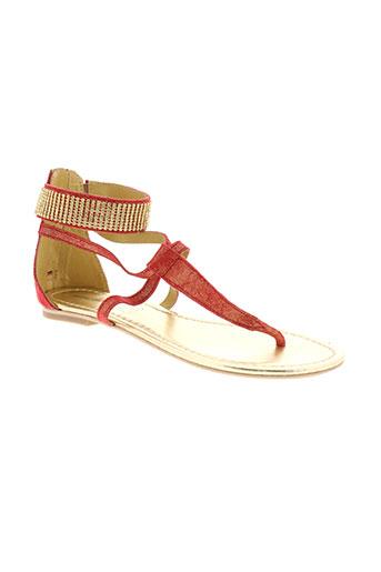 ilario ferucci chaussures femme de couleur rouge