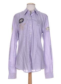 vestiaires principaute cannoise t-shirts homme de couleur violet wGvQS6JyEK