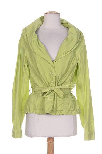 mark vestes femme de couleur vert