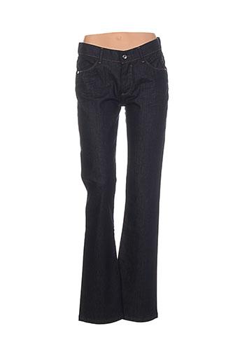 atelier oscar jeans femme de couleur bleu