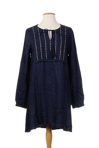 tiffosi robes femme de couleur bleu
