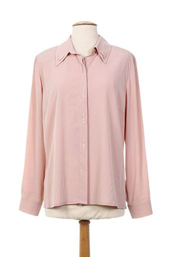 b de brel chemises femme de couleur rose