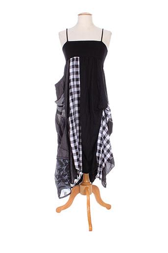 exquiss's robes femme de couleur noir