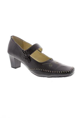 inea chaussures femme de couleur noir