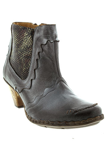 maciejka et obuwie boots femme de couleur gris