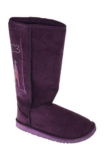 rosalita et mc et gee bottes femme de couleur violet