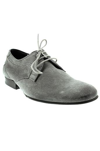 base london chaussures homme de couleur gris