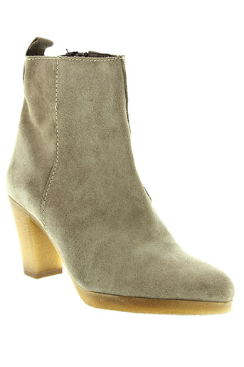 minka design chaussures femme de couleur gris