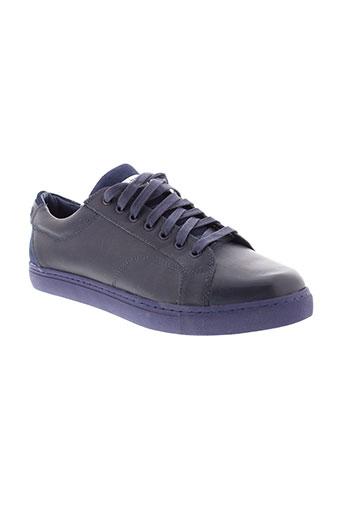 g star chaussures homme de couleur bleu