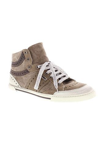 antony morato chaussures homme de couleur beige