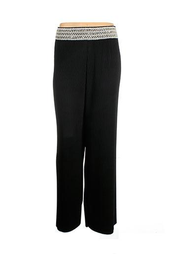 one et o et one pantalons et decontractes femme de couleur noir