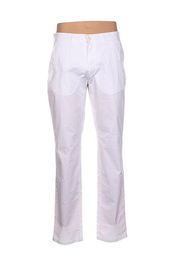 pionier pantalons et decontractes homme de couleur blanc