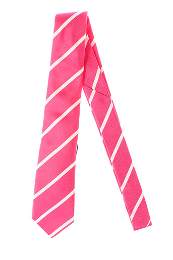 eden et park cravates homme de couleur rose